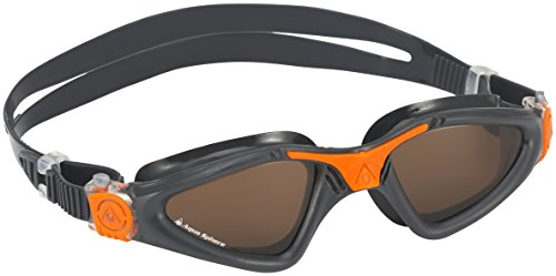 dba47a802a Aqua Sphere Kayenne Polarized Lens Swimming Goggles - Grey Orange - Buy  Online in Oman.