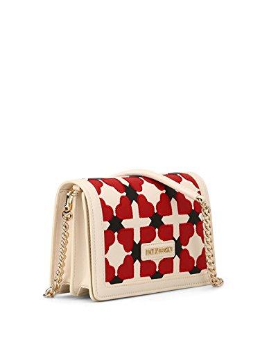 Heart Checked Love Moschino multicolour Heart Moschino Love Shoulder Checked Shoulder Bag HAqxd