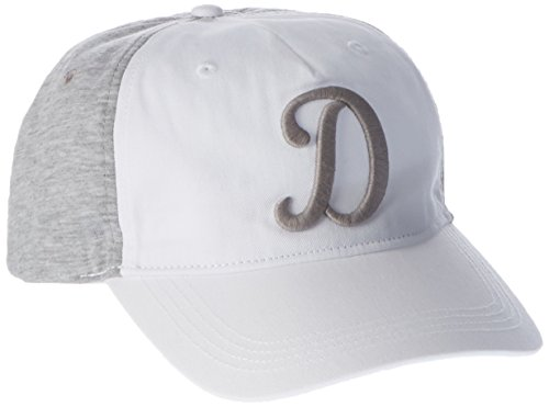 Hilfiger Denim Herren Baseball Thdm Branded Cap 15, Grau (Light Grey Htr/Classic White 903), One size (Herstellergröße: OS)