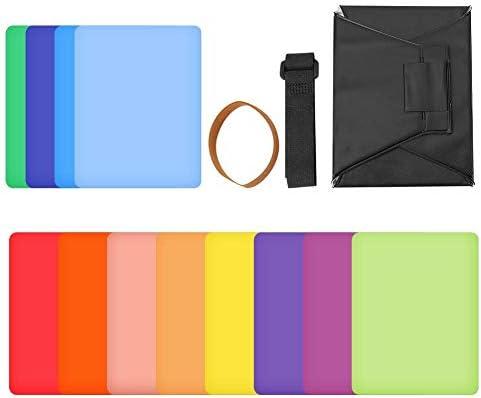 Oumij 12 Colores 5.12 Pulgadas Plegable Mini Softbox Octagonal ...
