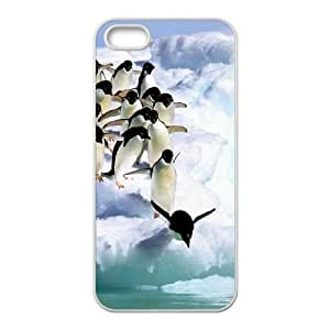 Happy Feet iPhone 5 5s Cell Phone Case White as a gift F7918255