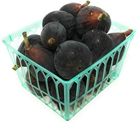 Figs Black Organic, 1 Basket
