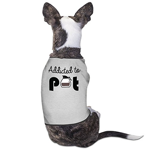 Theming Addicted To Pot Dog Vest
