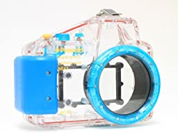 Polaroid Dive Rated Waterproof Underwater Housing Case For Sony Alpha NEX-3 Digital Camera WITH A 16mm Lens