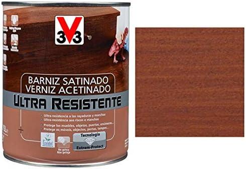 BARNIZ MADERA INTERIOR V33 SAPELLY: Amazon.es: Bricolaje y ...