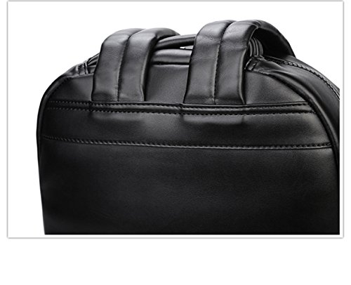 Bolsa de hombro doble 3D Toro Head iPad mochila Plata