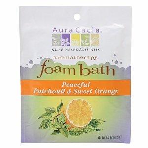 Patchouli/Sweet Orange Foam Bath-2.5 oz Brand: Aura Cacia