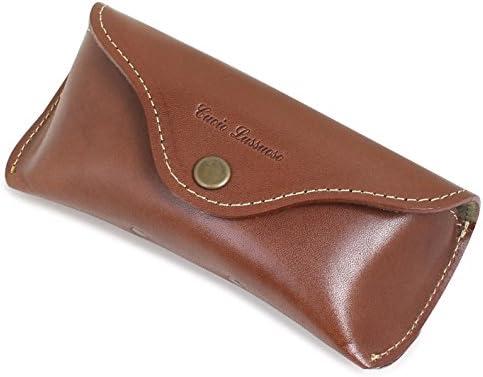 TCcase Co.,Ltd. Buttero - Funda rígida de Piel para Gafas con trabilla para cinturón para Colocar en Tus Pantalones, Color marrón: Amazon.es: Hogar