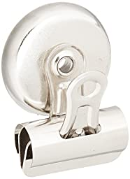 Sparco Bulldog Clip, Magnetic Back, Size 1, 1-1/4 X 3/8 Inches Cap, 18/Box, Silver (SPR58506)