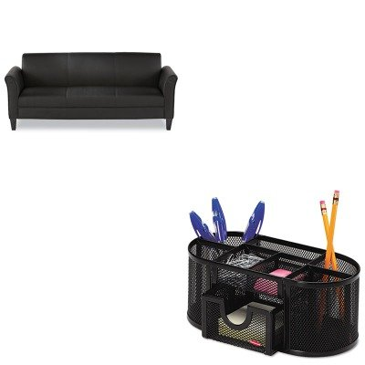 KITALERL21LS10BROL1746466 - Value Kit - Best Reception Lounge Furniture (ALERL21LS10B) and Rolodex Mesh Pencil Cup Organizer (ROL1746466)