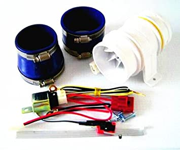 Clean movimiento automático cargador de Turbo turbo-5000 coche partes electrónicas Turbocompresor eléctrica turbina Supercharger: Amazon.es: Coche y moto