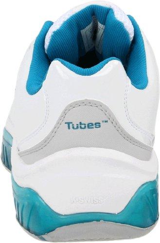 K-Swiss TUBES TENNIS 100 92742-177-M - Zapatillas de tenis para mujer Blanco