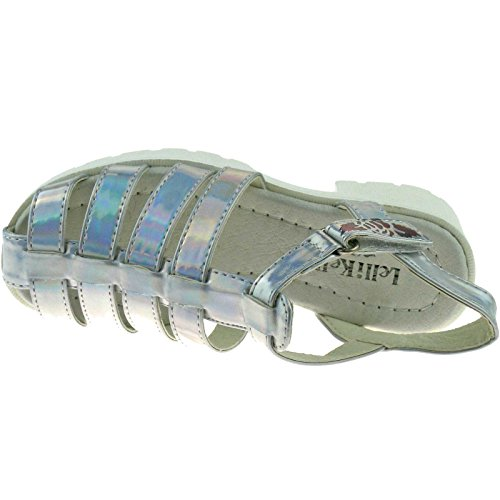 Lelli Kelly LK7477 (AH01) Silver Vivian Closed Toe Sandals-36 (UK 3)
