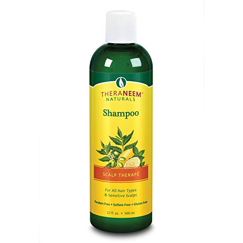 Oil Shampoo Neem - Theraneem, Shampoo Scalp Therape, 12 Fl Oz