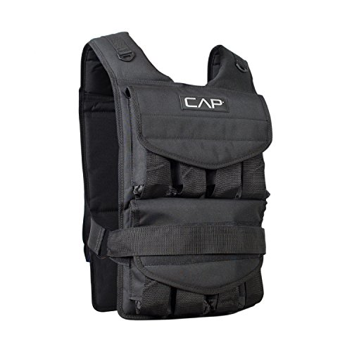CAP Barbell HHWV-CB040 Adjustable Weighted Vest, 40 lb