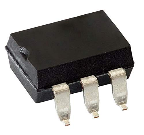 Triac & SCR Output Optocouplers 6Pin800V Optocoupler Zero Cross Triac Dr, Pack of 100 (MOC3081SVM)