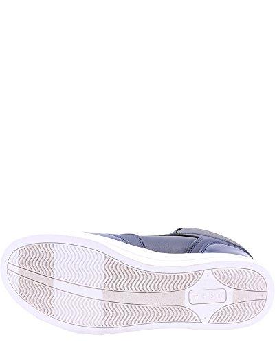 Noi Polo Assn. Sneakers Da Uomo Con Cinturino Alla Caviglia, Blu Scuro / Grattato, 7 Navy / Grigio Scuro