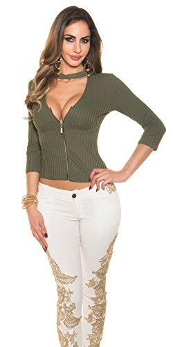 In-Stylefashion - Falda - para mujer marrón claro