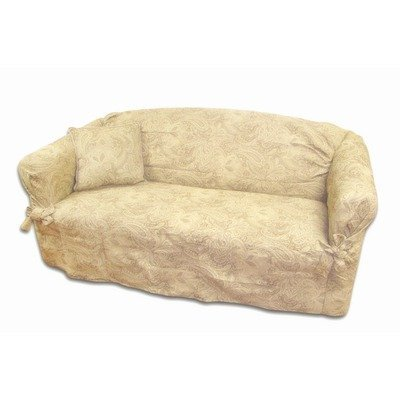 Textiles Plus Earthtone Loveseat Slipcover