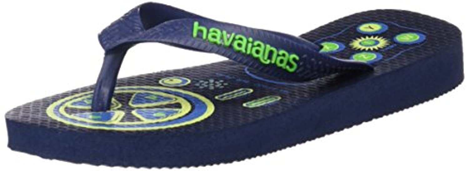 Havaianas RADICAL, Boys' Flipflops, Blue (NAVY BLUE 0555), 7 Child UK (25/26 EU)