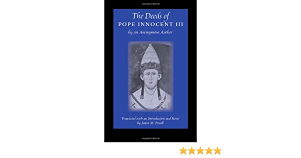 The Deeds of Pope Innocent III