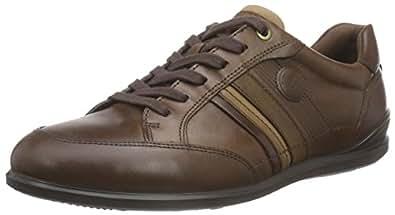 ECCO Men's Chander Modern Sneaker Oxford, Cocoa Brown, 39 EU/5-5.5