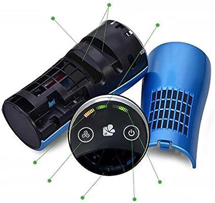 XAKJ Purificador de Aire y ionizador sin Ruido con Pantalla de Luces LED se Puede Instalar en Cualquier Parte del Coche C: Amazon.es: Deportes y aire libre