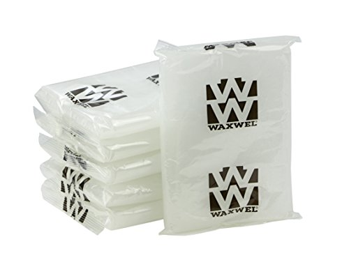(WaxWel Paraffin Bath Refill Wax Blocks, 6 lb Box, Peach)