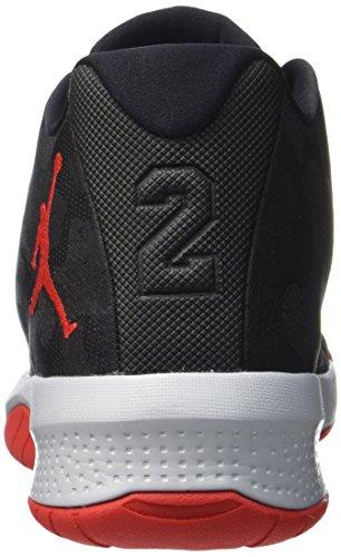 Nike Jordan B. Fly, Scarpe da Basket Uomo Nero (Black/Univ Red/Wolf Grey)