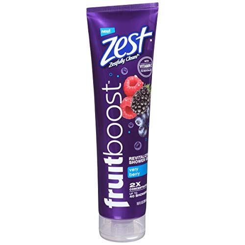 Zest Fruit Boost Very Berry Revitalizing Shower Gel 10 fl oz 4 Pack