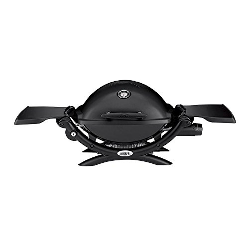 Weber Q 1200 1-Burner Portable Tabletop Propane Gas Grill in