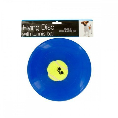 Kole Flying Disc with Tennis Ball Dog by Kole