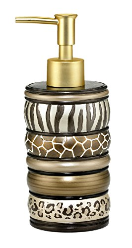 Popular Bath Safari Stripes Bath Collection - Bathroom Soap Lotion Pump