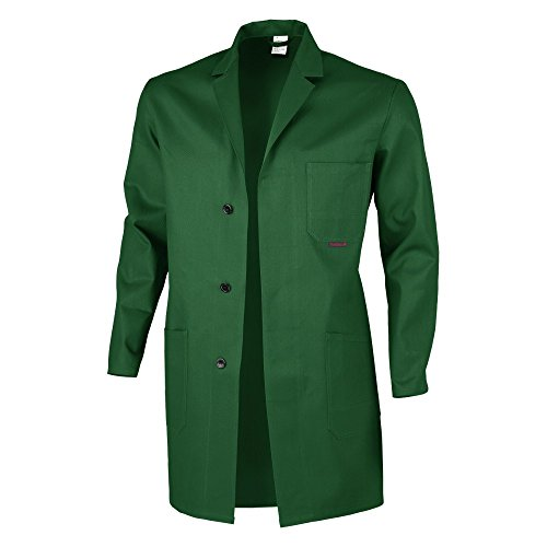 Disponibles Blaumann 106–vert Coton 100 Berufsmantel plusieurs Qualitex Coloris Arbeitskittel apSqA0