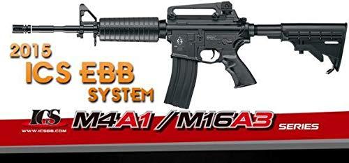 ICS/M4A1EBB/AEG/BK/電動ブローバック/分割メカボ/楽々メンテ! 303 B07RSN53Y3