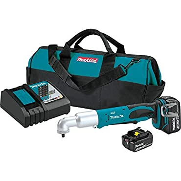 Makita XLT02 18V LXT Lithium-Ion Cordless 3/8 Angle Impact Wrench Kit