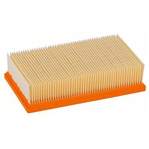 Aspirapolvere filtro piano plissettato dell'aria compatibile con KARCHER NT25/1, 35/1, 45/1, 55/01, 361/01, 561/01, 611/01, DEWALT D27091, D27092, FLEX S36, S47, HILTI VC 20, VC 40 etc. - Sostituzione Aspirapolvere Filtro - vuoto Accessori BSD