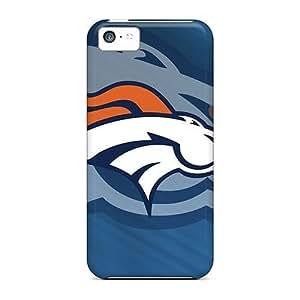 MMZ DIY PHONE CASEConnieJCole iphone 5/5s Hybrid Tpu Case Cover Silicon Bumper Denver Broncos Team Logo