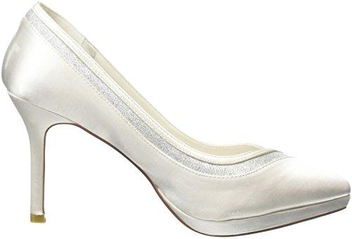 Menbur Wedding Felicidad - Tacones Mujer Blanco - Off White (Off White 04)
