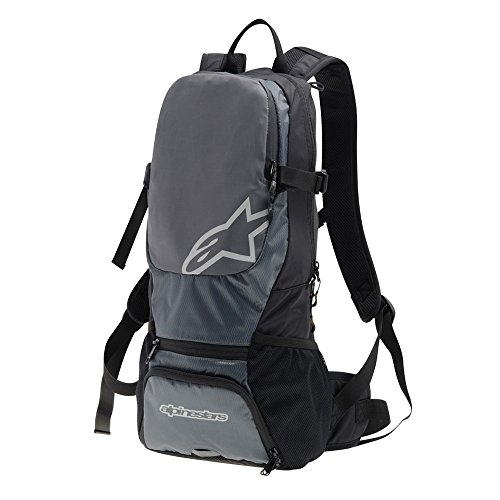 Alpinestars Faster Back Pack, One Size, Black Steel Gray