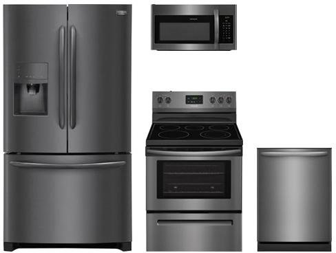 Frigidaire 4-Piece Black Stainless Steel Set, FGHF2367TD 36