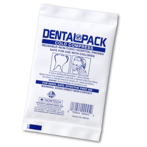 Dental Pack Cold Gel Pack (Reusable), 4