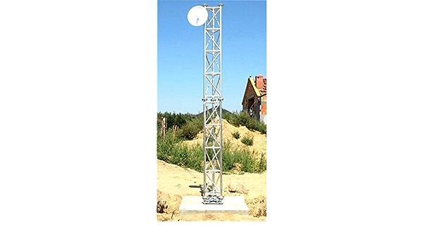 Kit de torre de enrejado de aluminio de 7 m con antena de ...