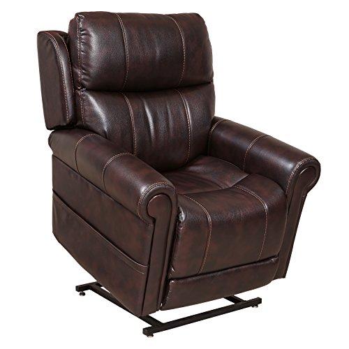 Pulaski A496U-015-336 Home Comfort Collection Lift Chair, Walnut - Medium Chair Lift Collection