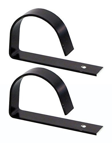 Aluminum G Clamp for securing pipe to roof - HC-124 - 2 Pack