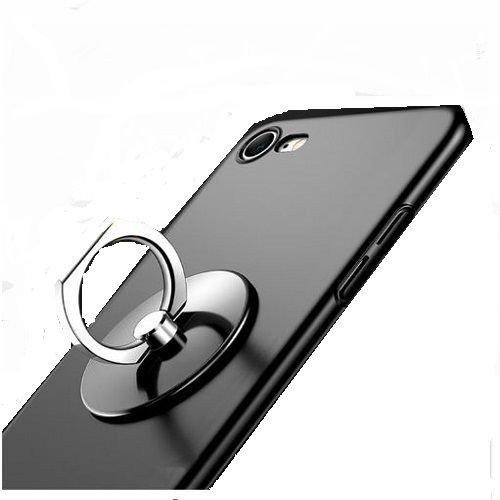 OZZZO Soporte del Anillo Adhesivo de Metal Negro para Samsung s5230 Player One Hello Kitty