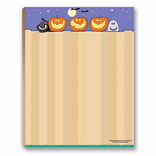 Halloween Notepad - Fun Note Pad - 50 Sheets Per Pad - 4.25 x 5.5 inches