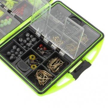 Accessoires Pêche Set assorties Emerillons de Qualité Crochets Haute 1 Tackle pêche YHZROf