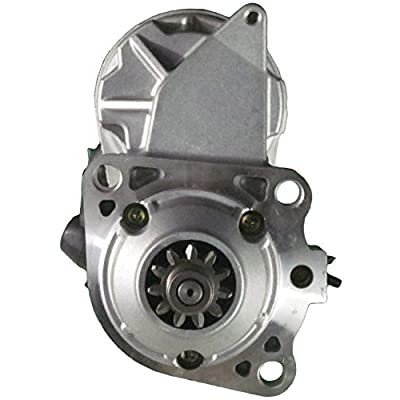 New Premium Starter fits John Deere Graders 670C 96-02, 670D 05-09, 670G 08-17, 670GP 08-17, 672D 05-09, 672G 08-17 W/6068 6.8L Engine RE505465 RE506078 TG228080-9631 228080-9631 91-29-5832 19871N: Automotive