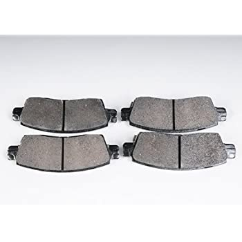 ACDelco 171-1158 GM Original Equipment Rear Disc Brake Pad Set